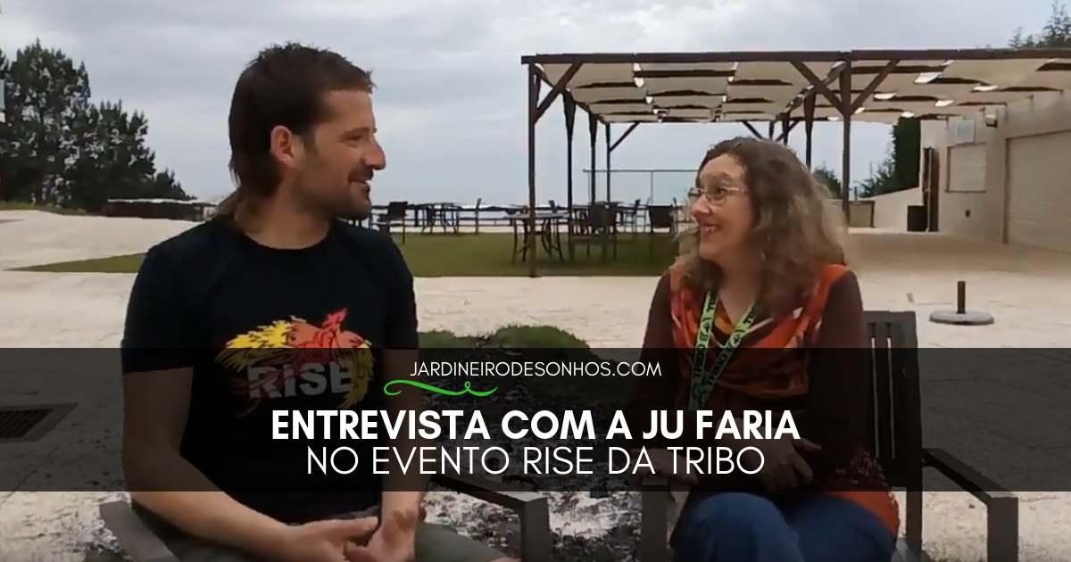 Entrevista com a Ju Faria no Evento Rise da Tribo
